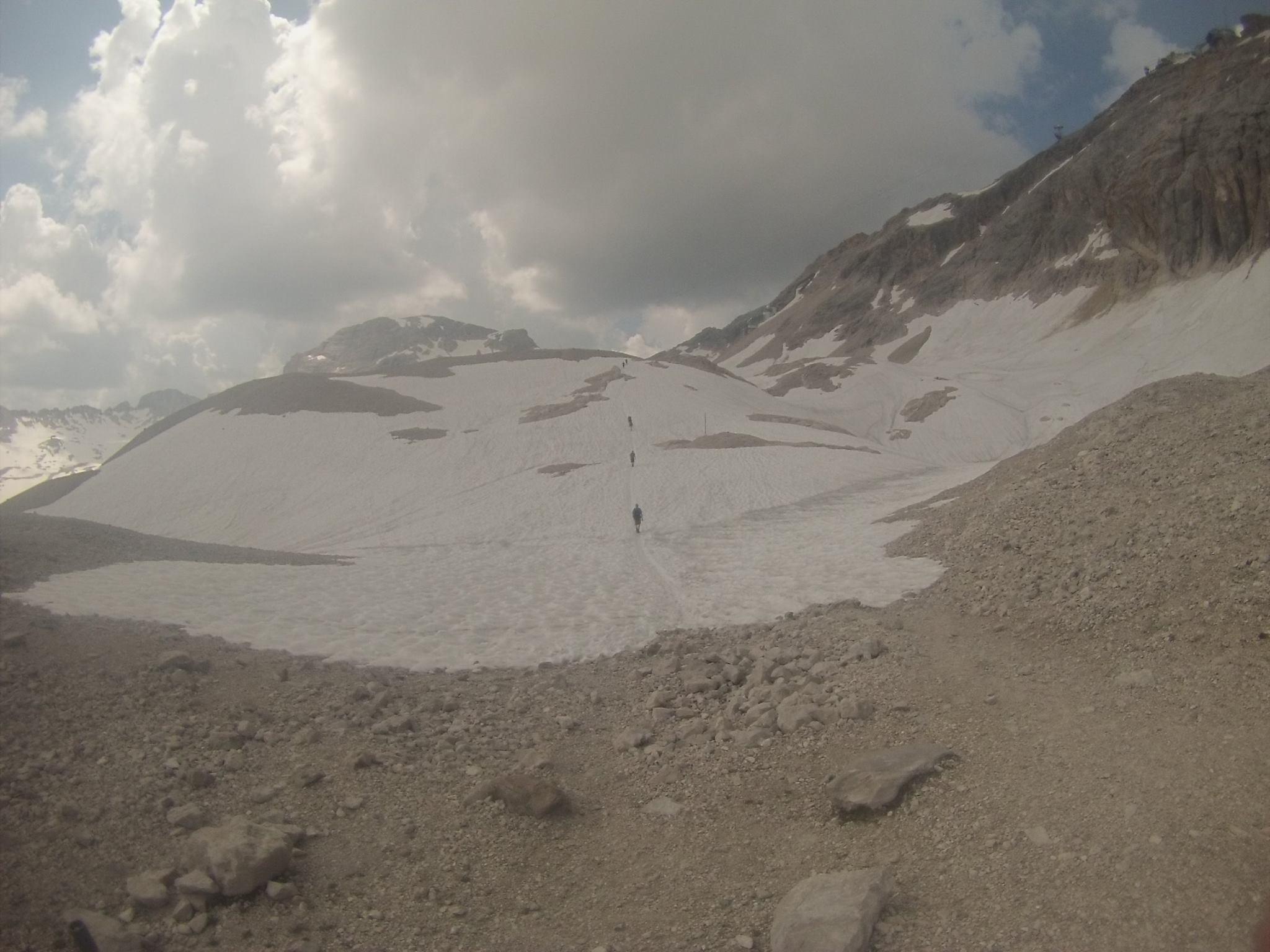 Klettersteigset Zugspitze : Wanderung zur zugspitze von ehrwald über das gatterl klettersteigset